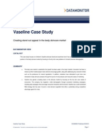Vaseline Case Study