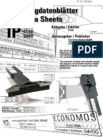 Tool Data Sheets - IP - Edition 0700