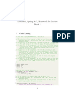 How to make document using Latex