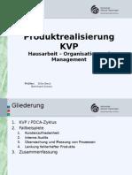 Produktrealisierung KVP PP