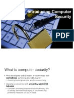 Intro to Security