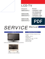 manual samsung TV LD