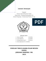 MAKALAH HAKIKAT MENGAJAR.docx