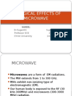 Biological Effects of Microwave