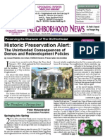 March 2015, HONNA Quarterly Newsletter