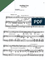 Anything Goes Sheet Music