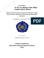 Case Report Partus Tak Maju