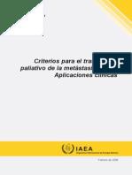 Criterios Para El Tratamiento Paliativo