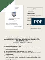 2 Forma de Presentacion de Un Informe
