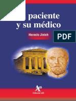 El Paciente Y Su Médico [Jinich]