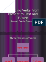 Changing Verbs From Present to Past (1)