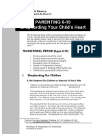 Parenting 6-10 Outline