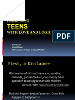 Parenting Teens Love Logic