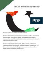 Political Islam - An Evolutionary History