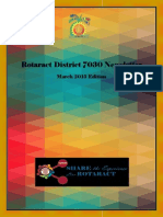 District Newsletter March 2015 (English)