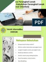 Minggu 4 - Analisis Perangkat Lunak