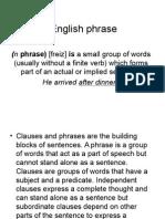 English Phrase