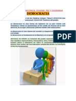 Unidad III Democracia