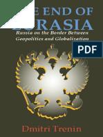 The End of Eurasia