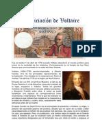 La Iniciación de Voltaire