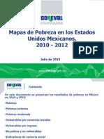Mapas Pobreza 2010-2012