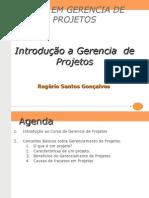 Introdução a Gerencia de de Projetos 2009