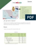 Datos de Guerrero