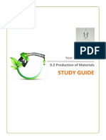 Quarkololgy Production of Materials Study Guide
