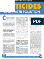 Pesticides and Water 09
