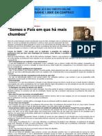 CM - Maria de Lurdes Rodrigues Somos o País em que há mais chumbos