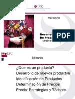 Desarrollo Y Fijacion de Precios de Productos