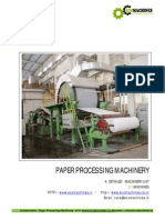 Ecomachines Paper Processing Machinery