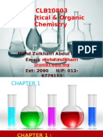 Chapter 1 - Part 1 Introduction to Organic Chemistry