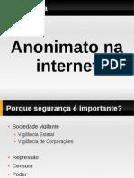 Anonimato Internet