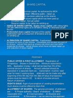 4a. Share Capital & Rights, Bonus Iipm