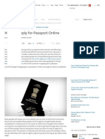 How to Apply for Passport Online _ NDTV Gadgets