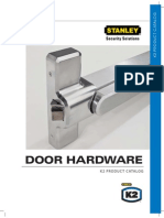 K2 Door Hardware Catalog K2