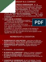 5.Membership in a Company
