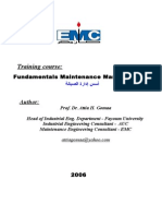 00 Fundamentals Maintenance Management 2006