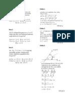 analitik geometri 98 tane soru ve çözümleri