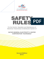 Kahramaa Safety Rules 2014
