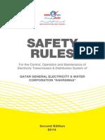 Kahramaa Safety Rules 2014