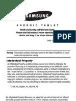 GEN SM-T210R Galaxy Tab 3 English HealthandSafety KK R2