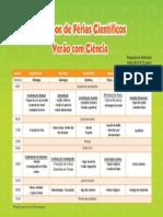 Programa Cf Verao 2014
