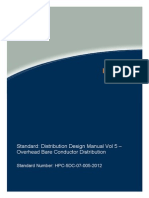 HPC 5DC 07 0005 2012 Distribution Design Manual Vol 5v1