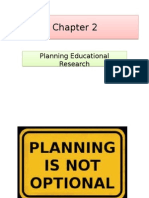 Planning Educational Research