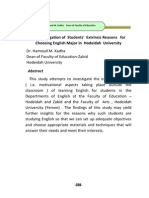 Dr. Hamoud M. Kadha Investigation