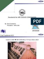 HEI Standards for Air Cooled Condensers.dave Sanderlin SPIG USA