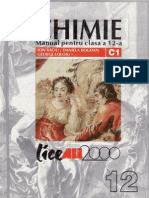 Manual de Chimie C1 Clasa XII