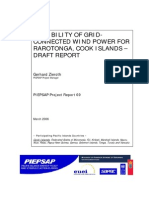 Impianto energie rinnovabili di Roratonga Isole COOK